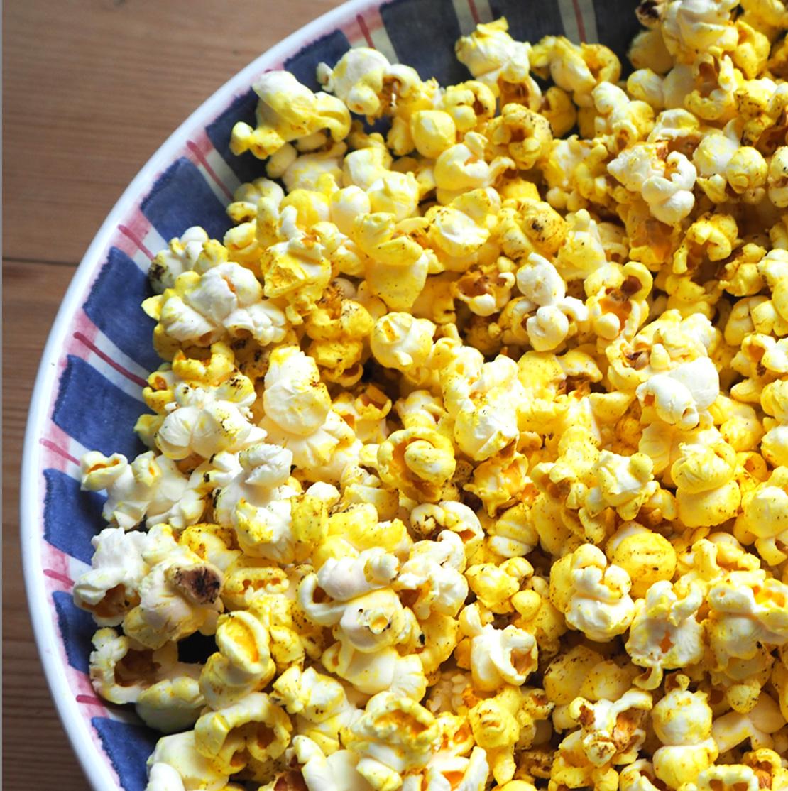 Kurkuma-Popcorn